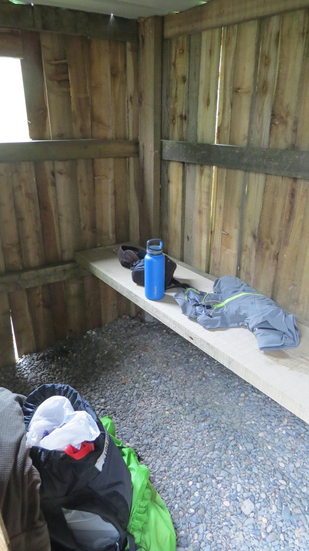 Bus (or Rain) Shelter