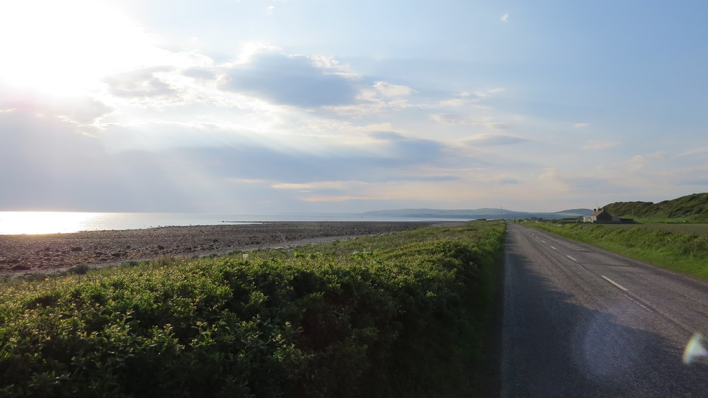 Evening Road Walking
