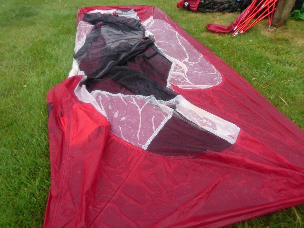 Sodden Tent
