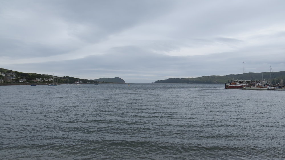Looking out from Campbeltown