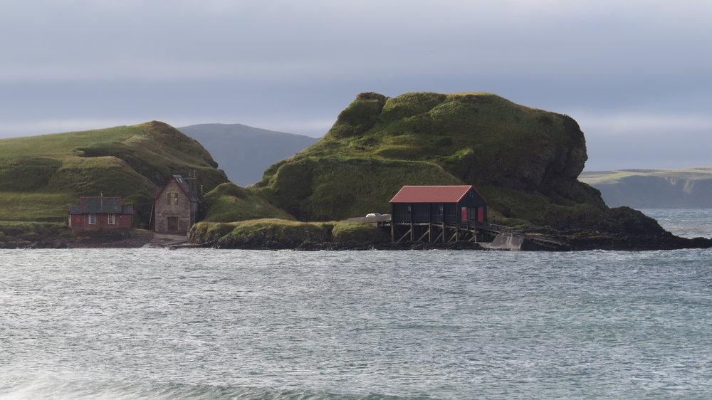 Interesting Buildings Dunaverty Bay
