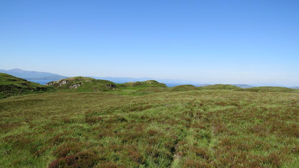 Plateau above Ellenabeich