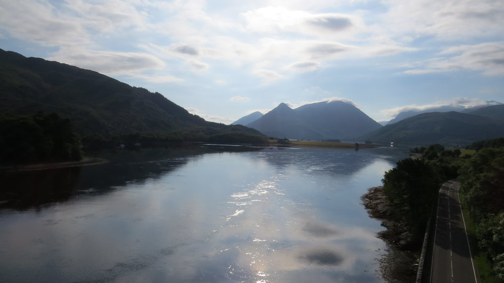 View from Ballachulish Bridge