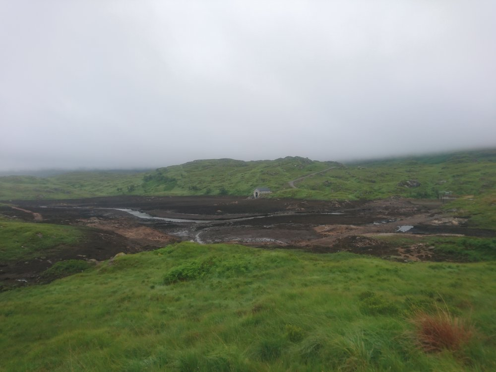 Drained Loch