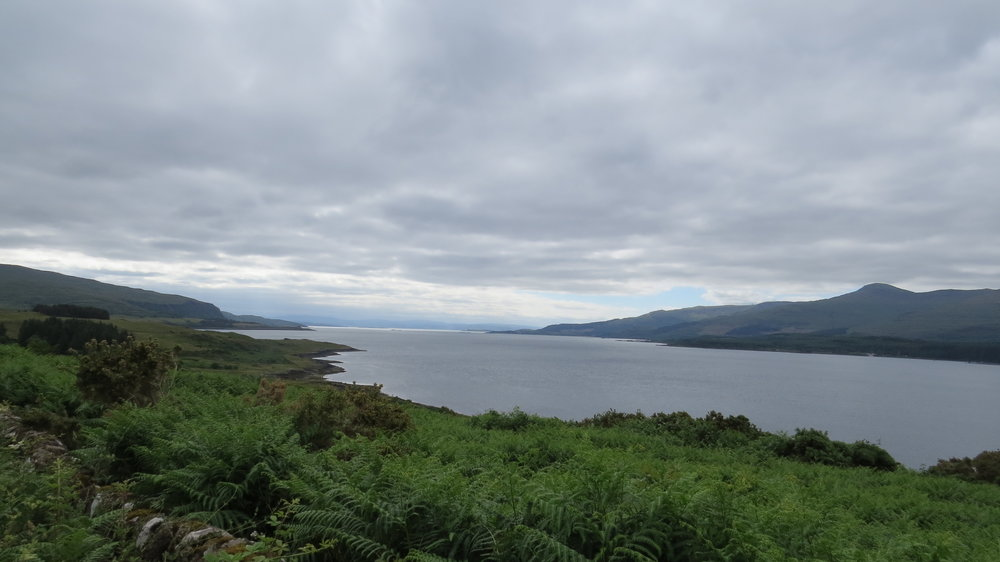View down Sound of Mull