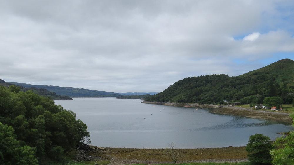 Glenborrodale Bay