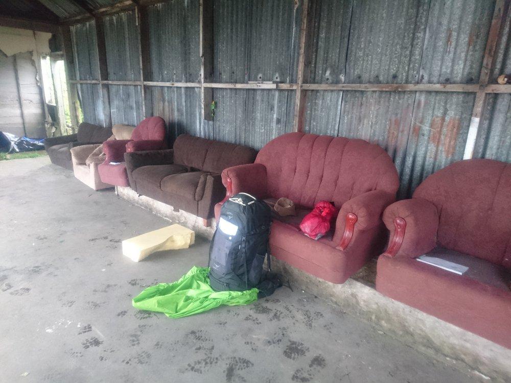 Strange Set of Sofas
