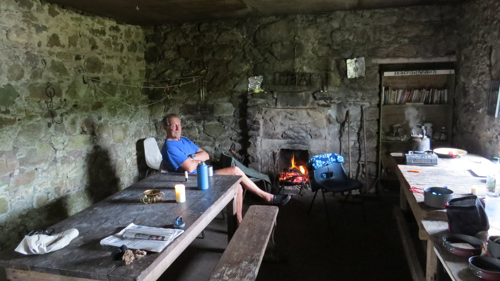 Interior Leacraithnaich Bothy