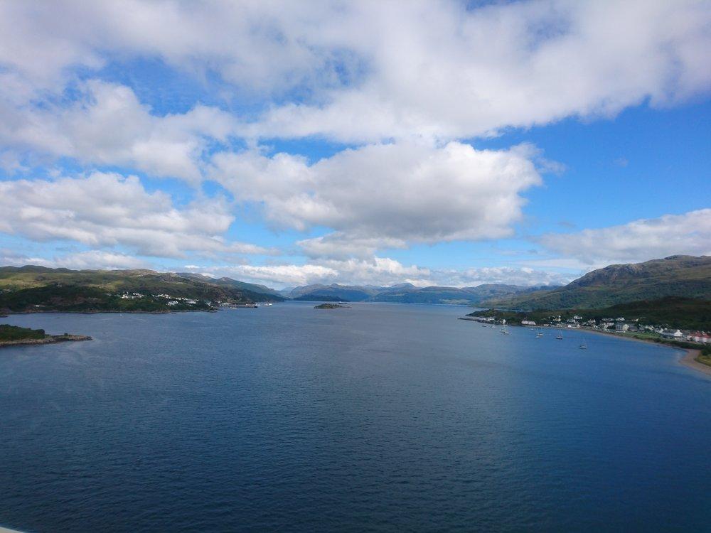 View from Skye Bridge