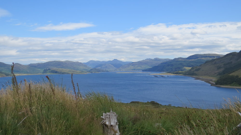 Looking over Loch Alsh