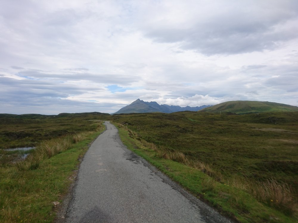 Single Track Road to Elgol