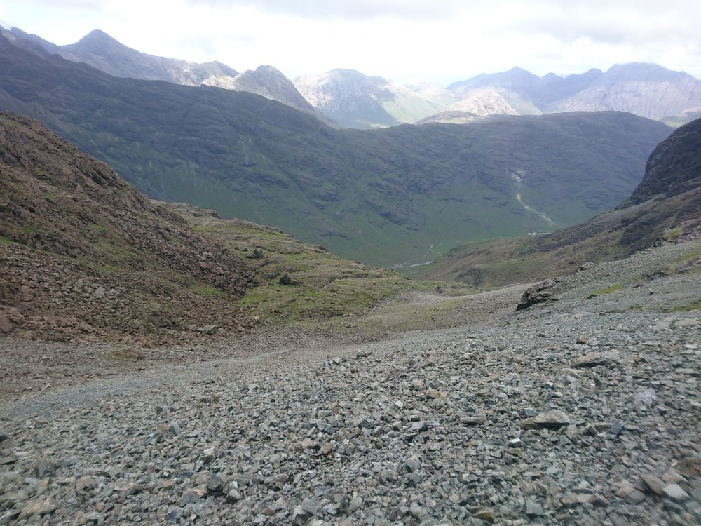 Part Way up the Scree
