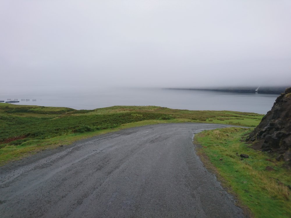 Road out of Milovaig