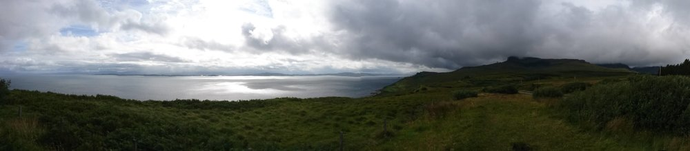 Panoramic View including Old Man of Storr