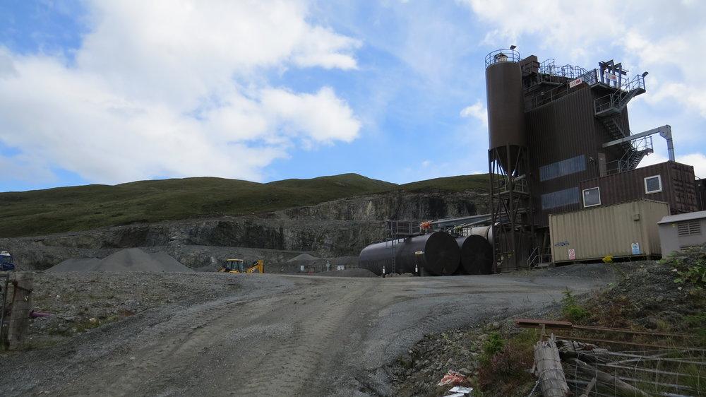 Quarry on Maol Road