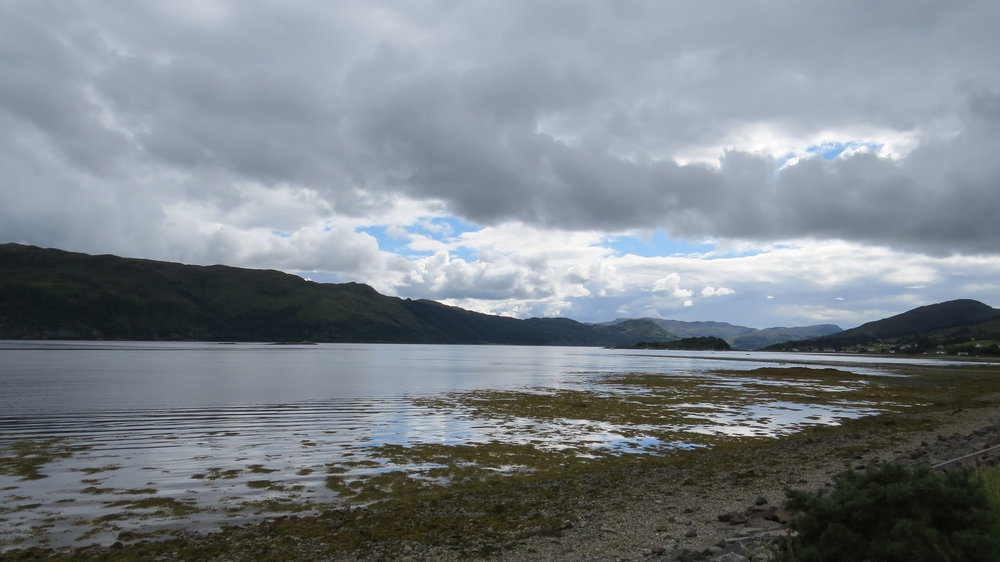 View from Lochcarron