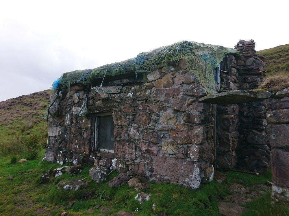 Ivor's Bothy Exterior