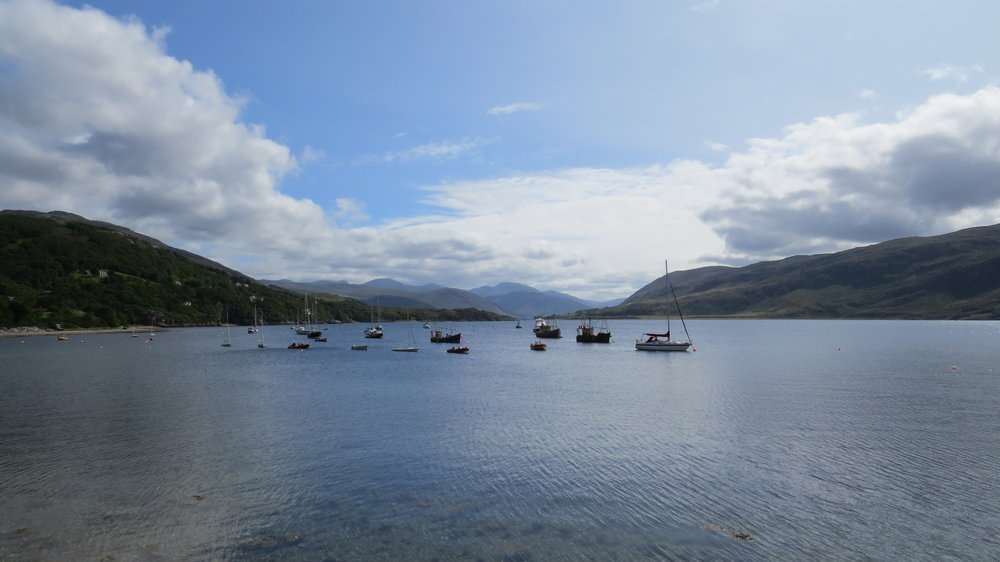 Sunny View from Ullapool
