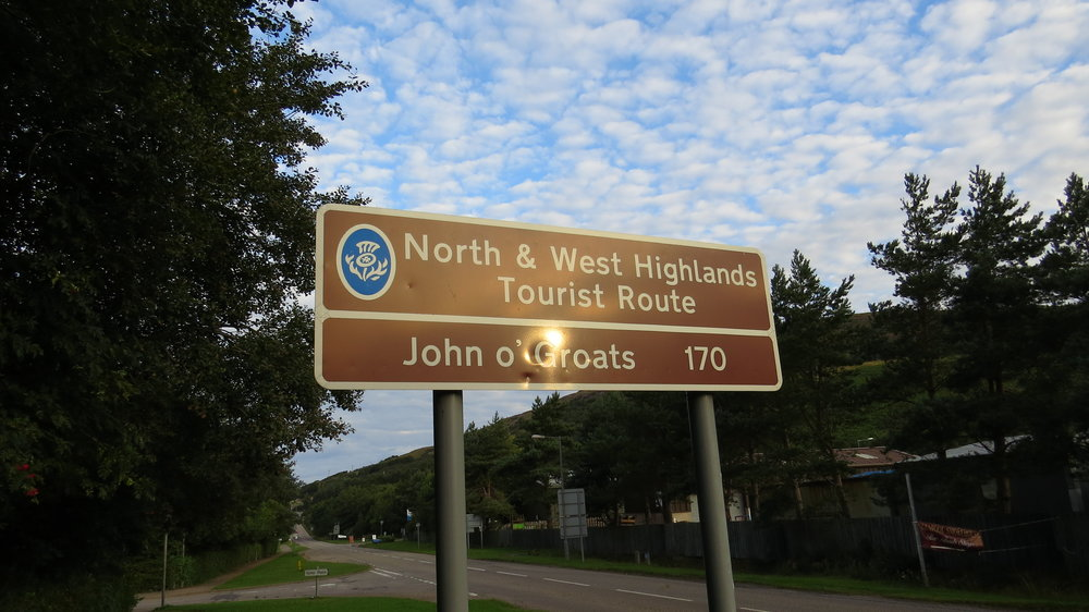 First John o'Groats Sign