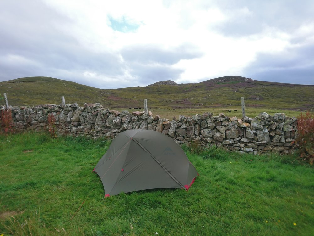 Dry Stone Wind Shield