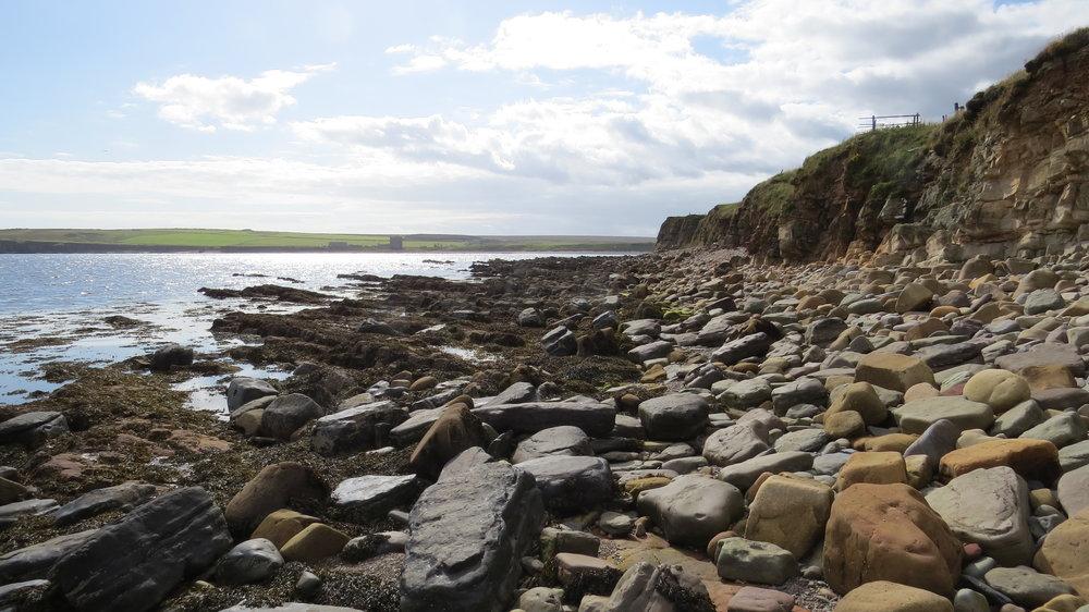 Boulders in Freswick Bay