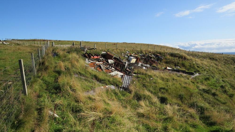 Plenty of Farming Rubbish Today