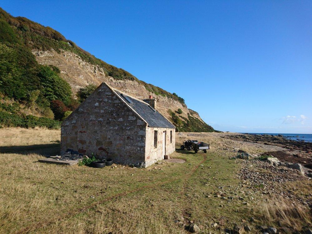 House/Bothy on the Beach