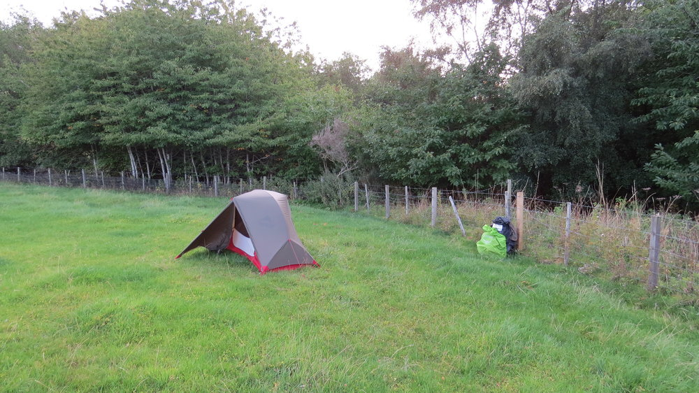 Sheltered Pitch Spot