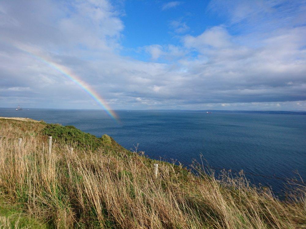 Rainbow over the Moray Firth