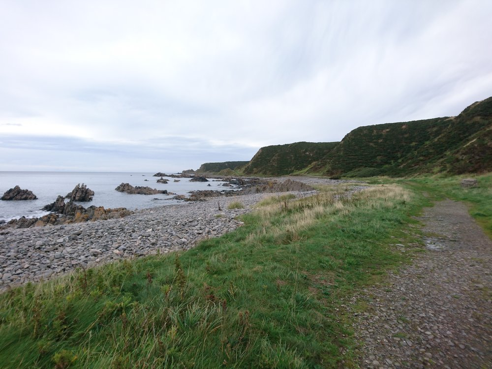 Undercliff Path near Cullen