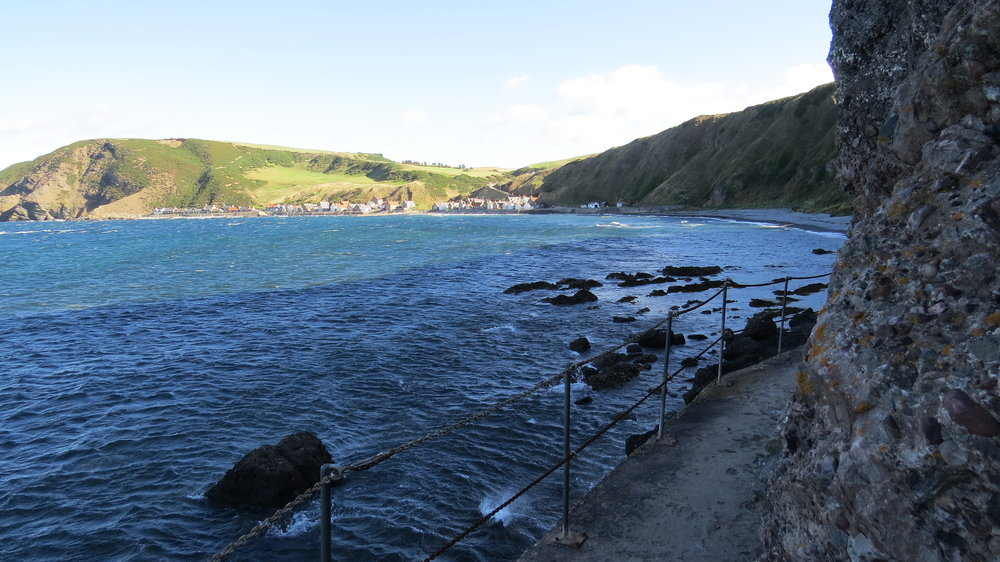 Gardenstown to Crovie Path