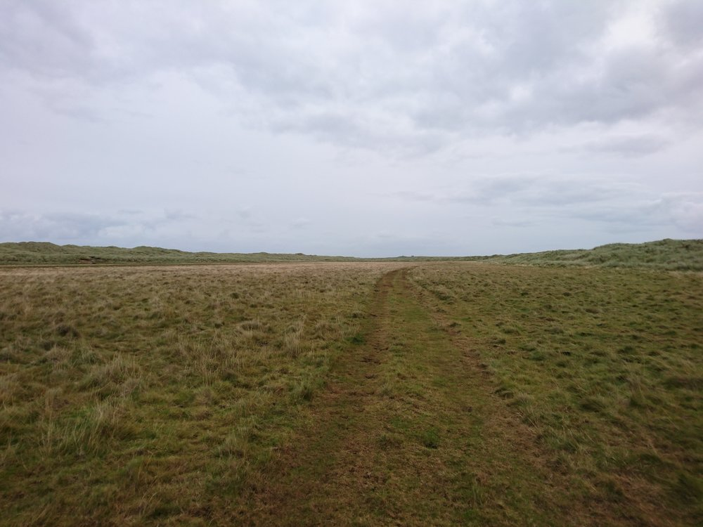 Track to the Dunes