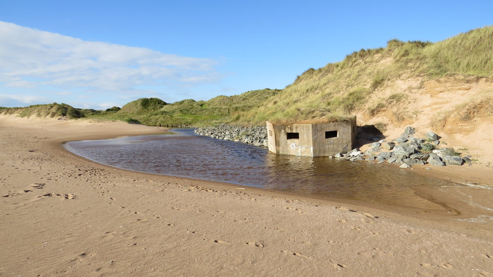 Pill Box on Beach