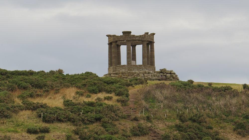 Memorial above Stonehaven