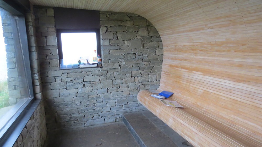 Bird Hide Interior