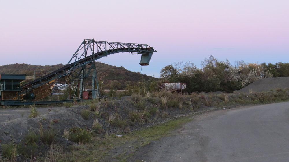Quarry near Caravan