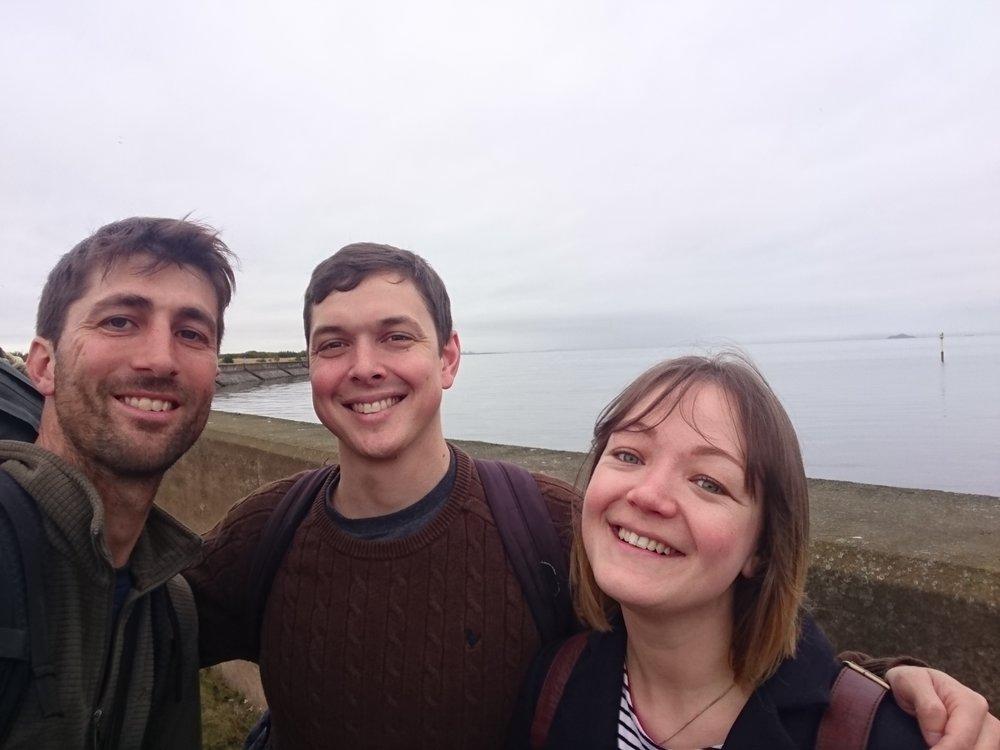Jamie, Siobhan and I