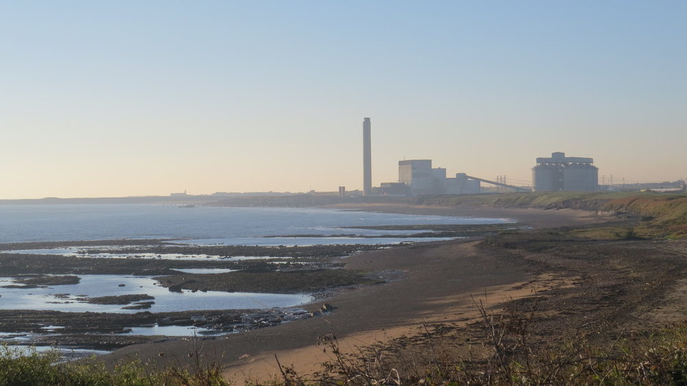 Power Station near Lynemouth