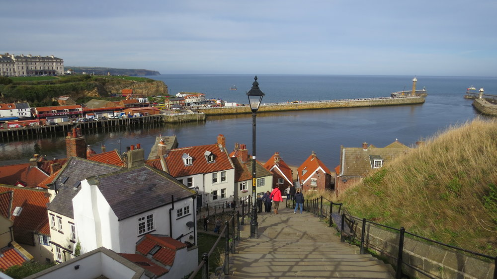 Steps out of Whitby