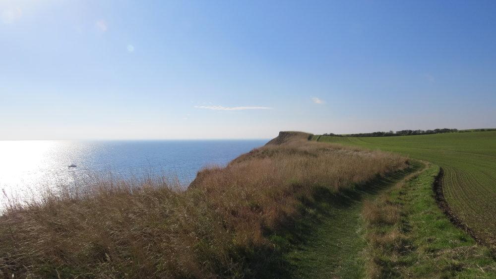 Path towards Bridlington