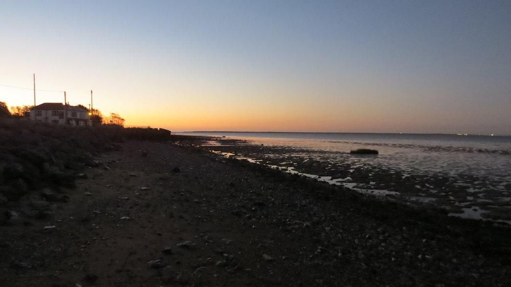 Early Start from Kilnsea