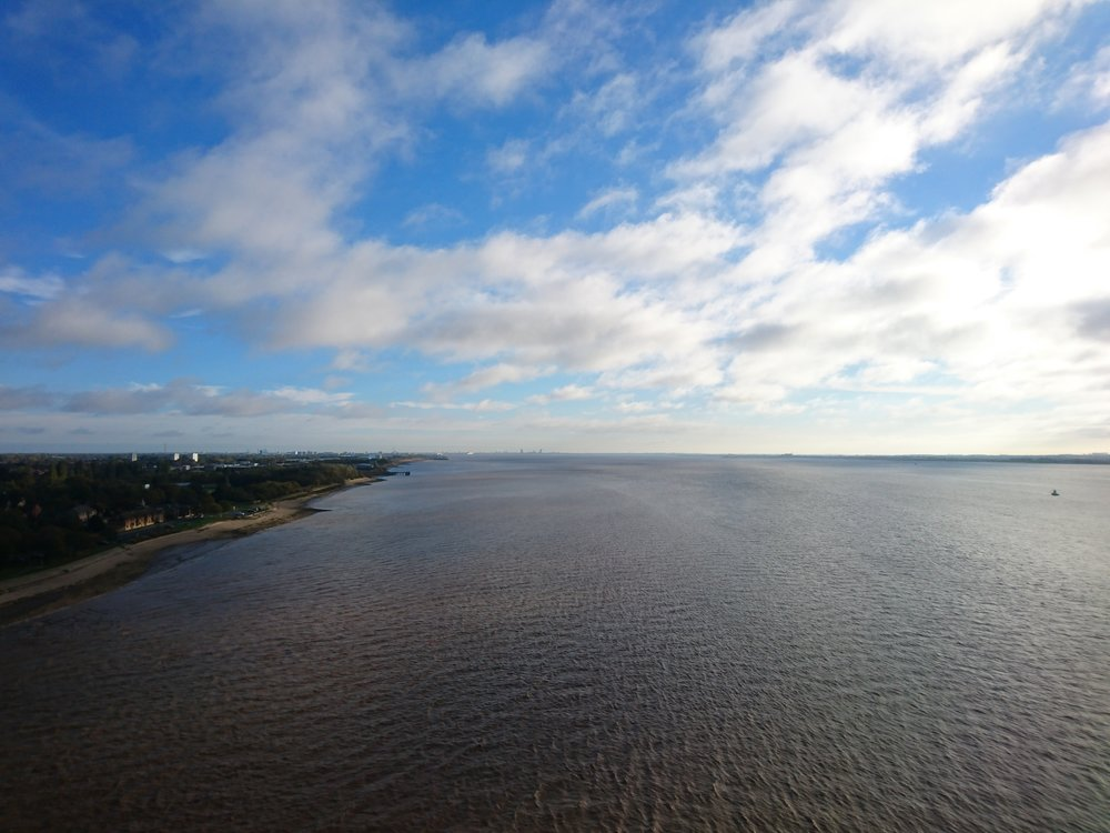 View from Humber Bridge