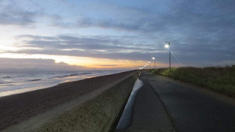 Early Morning Trusthorpe Promenade