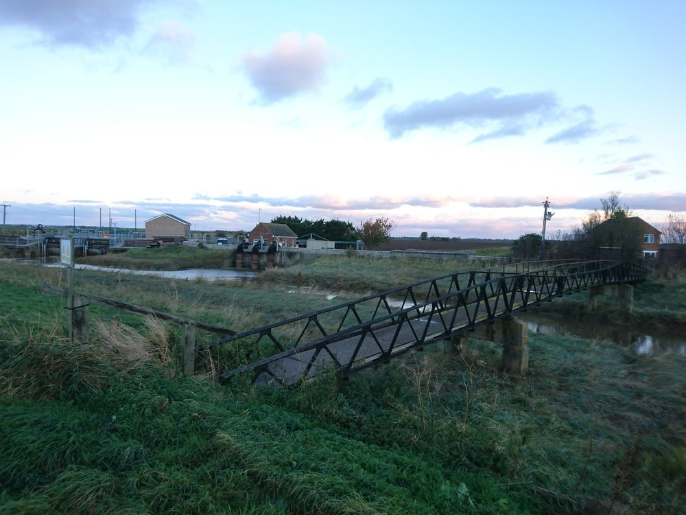 Footbridge near Gibraltar Point