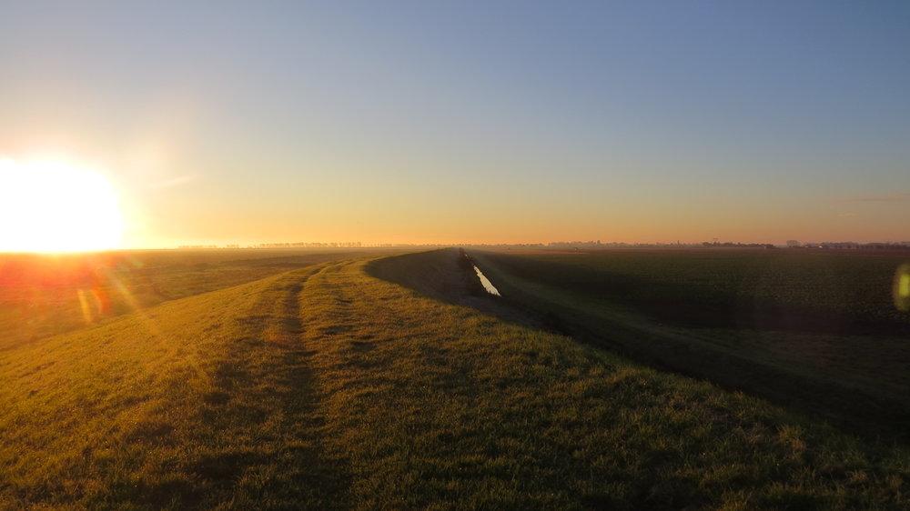 Sunrise over Embankment