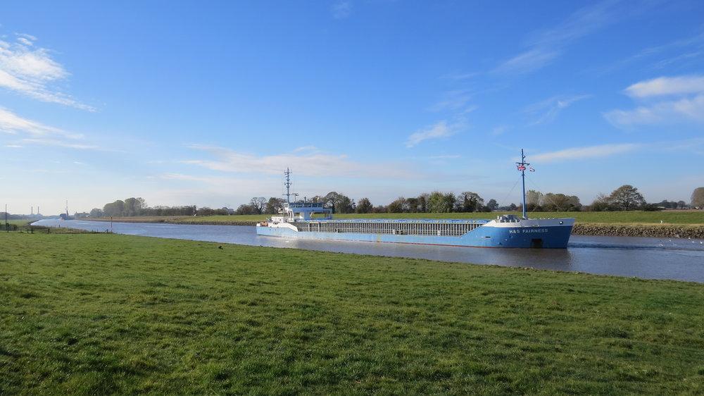 Boat on Nene Outfall Cut