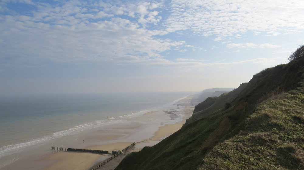 Cliff View near Overstrand
