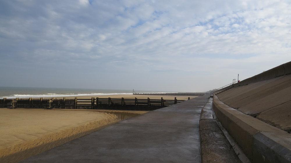Walking on Sea Defence