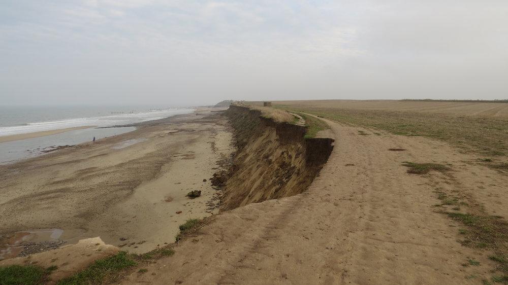 Path near the Edge