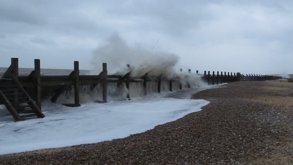 Sea Breaching Defences